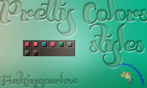 Pretty Colors Photoshop Styles