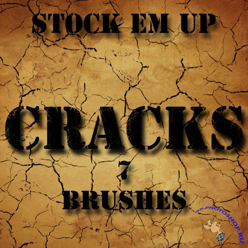 7 Cracks Photoshop Brushes