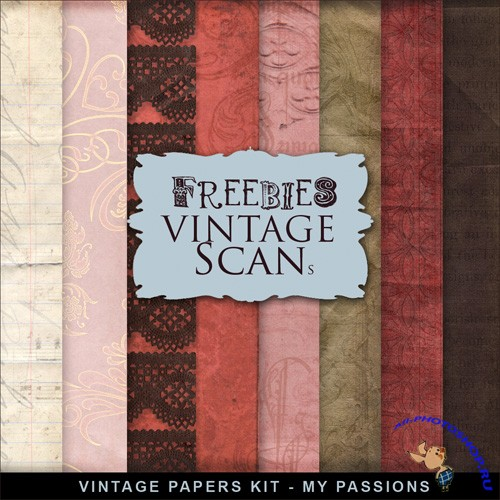 Textures - Vintage Style - My Passions