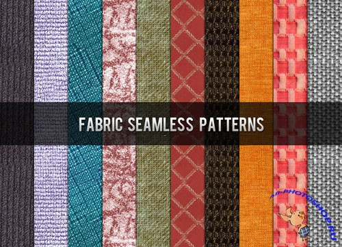 Fabric Seamless Photoshop Patterns
