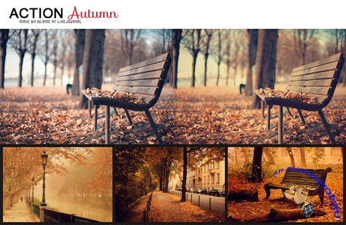 Autumn Photoshop Actions #1