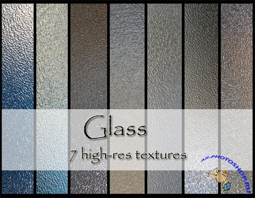 Glass Textures Pack