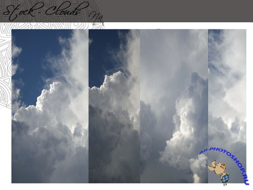 Clouds PNG Backgrounds