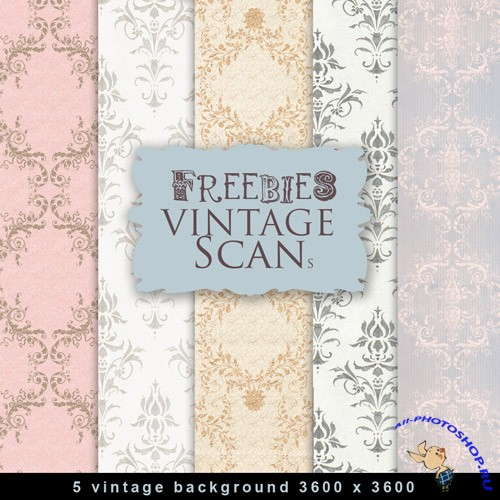 Textures - Old Vintage Backgrounds #123