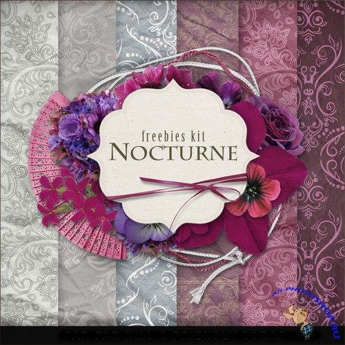 Scrap-set - Nocturne