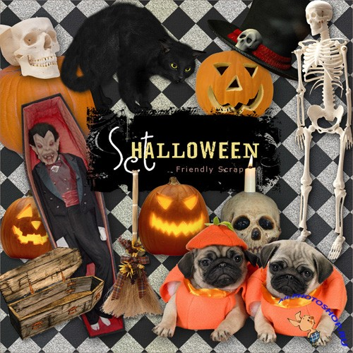 Scrap-kit - Halloween Set 2