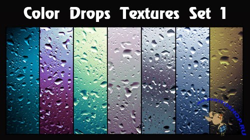 Color Drops Textures #1