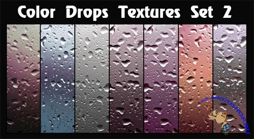 Color Drops Textures #2
