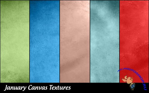 Canvas Textures Set 1