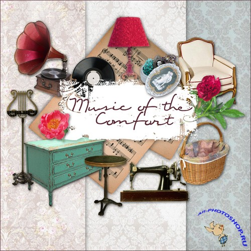 Scrap-kit - Music of the Comfort