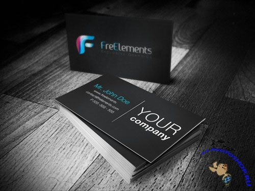 Business Cards Mockups PSD Template #2