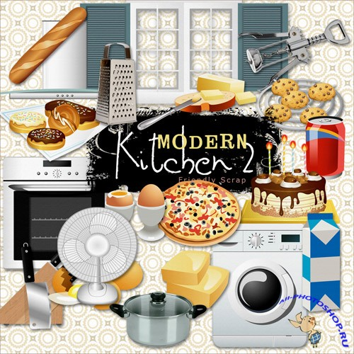 Scrap-kit - Modern Kitchen 2