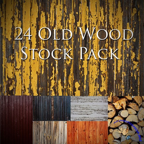 24 Old Wood Texture Backgrounds