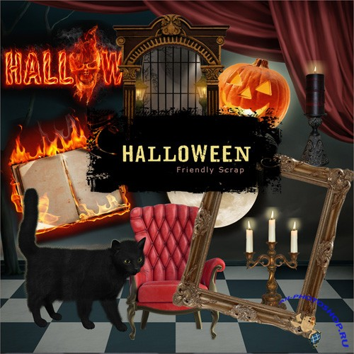 Scrap-kit - Halloween Atributes