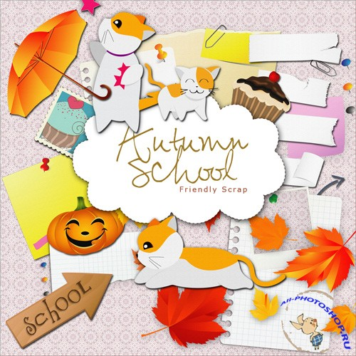 Scrap-kit - Autumn School
