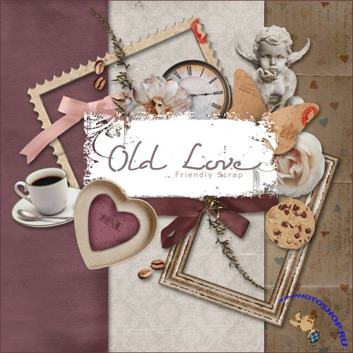 Scrap-set - Old Love
