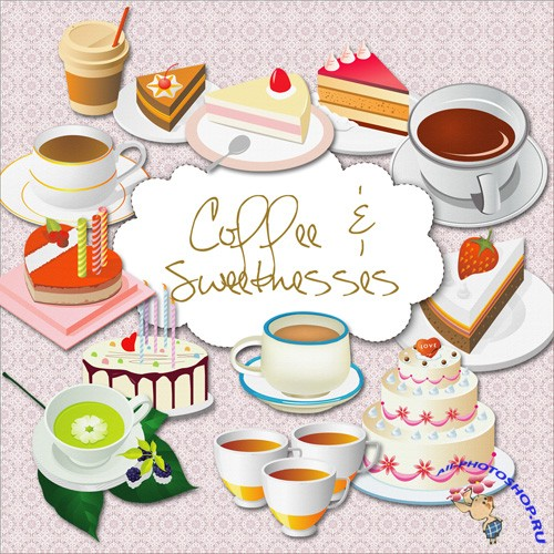 Scrap-kit - Coffee Sweetnesses