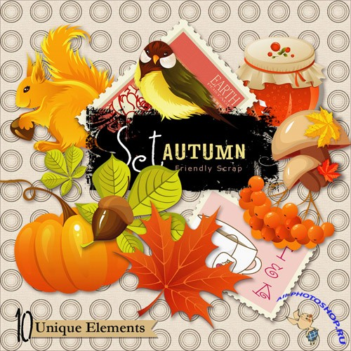 Scrap-kit - Autumn PNG Images
