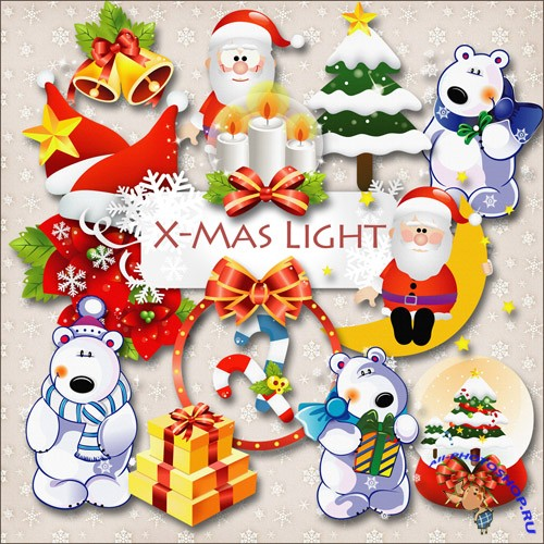 Scrap-kit - Christmas Light