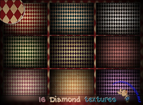 16 Large Diamond Textures