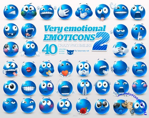 Very Emotional Icons Pack