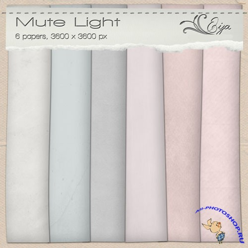 Mute Light Papers Pack