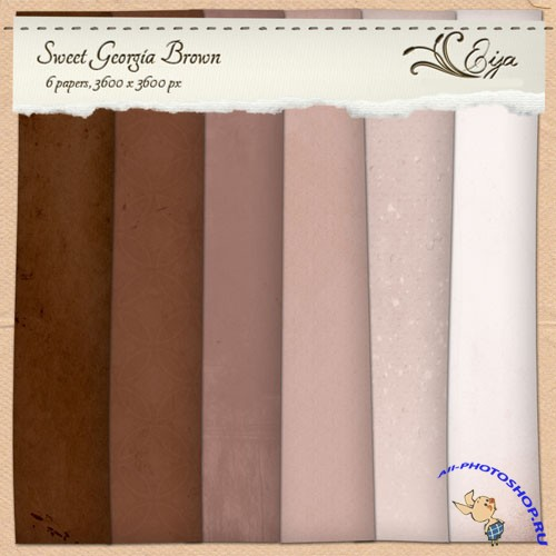 Sweet Georgia Brown Papers Pack