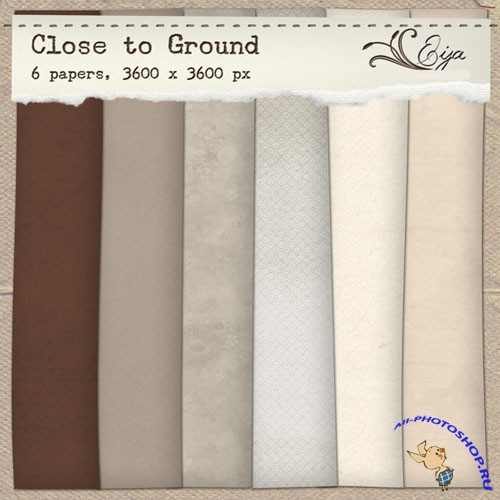 Close to Ground Papers Pack