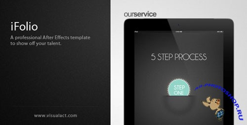 Videohive - iFolio: Portfolio After Effects Template 2067007