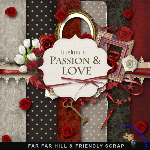 Scrap-set - Passion & Love