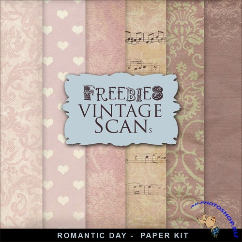 Textures - Romantic Day Papers