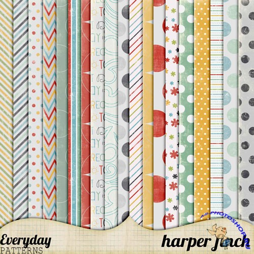 Everyday Patterns Textures Pack