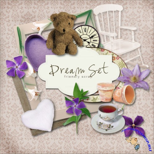 Scrap-kit - Dream Set