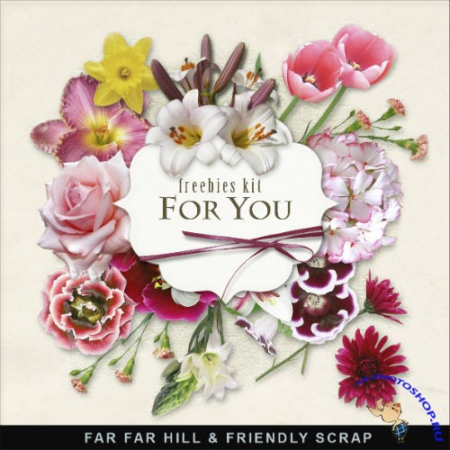 Scrap-kit - Flowers For You