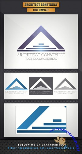 Architect Construct Logo Vector Template