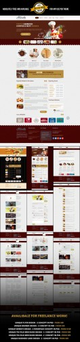 Felicita Restaraunt Bar Cafe Theme PSD Template