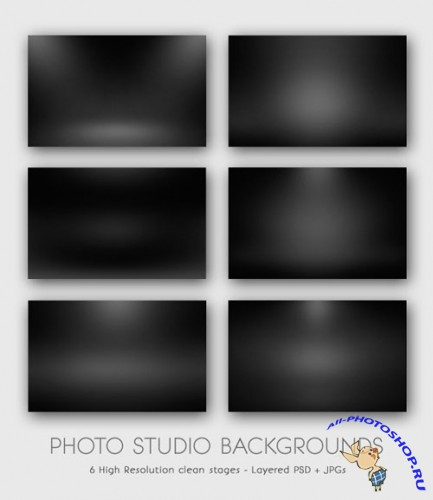 Dark Photo Studio Backgrounds Web Backdrop