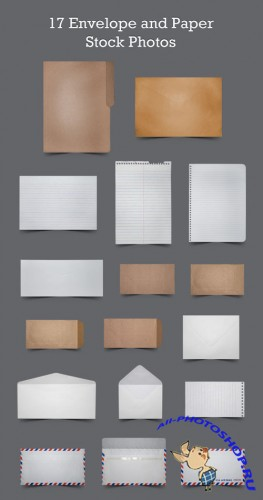 17 Envelope and Paper Stock Photos