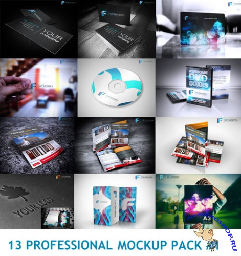 13 Professional Mockup PSD Template