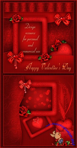 Valentine's Day PSD Template