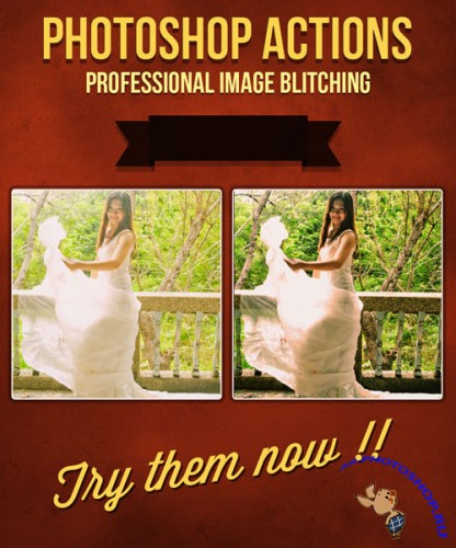 Photo Blitching Photoshop Actions