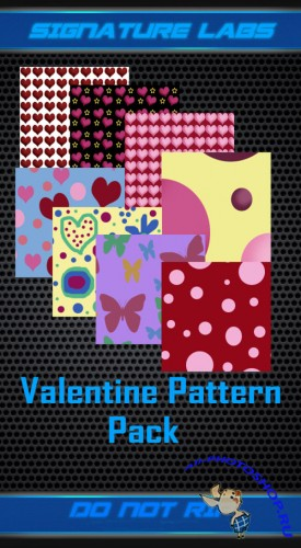 Valentine Photoshop Patterns