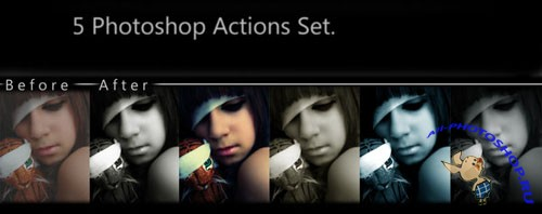 Colourful Photoshop Actions #2