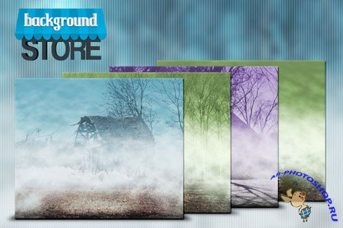 Foggy Backgrounds