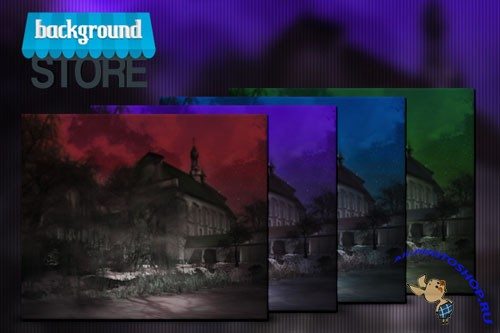 Dark Monastery Backgrounds