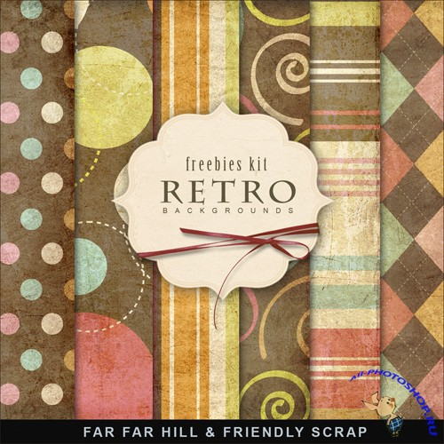 Textures - Retro Style Papers 4