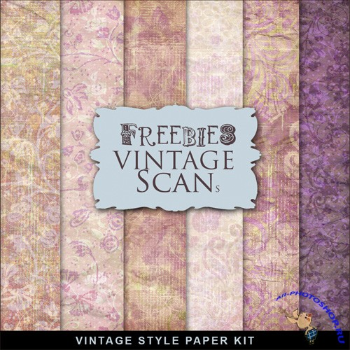 Textures - Old Vintage Backgrounds #125