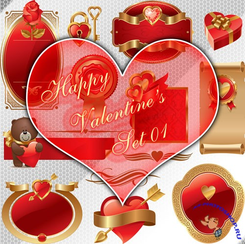 Happy Valentine's Day PNG Clipart #1