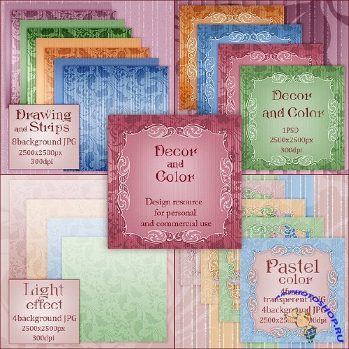 Decor and Color Papers