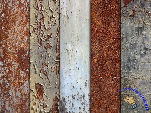 Rotten Rusty Textures Pack #1